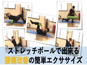 ストレッチポールで出来る腰痛改善の簡単トレーニング!